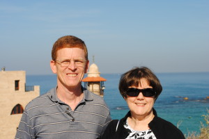 Pastor & Mrs. Russell in Israel